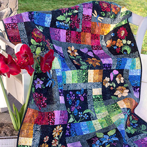 All About Enchanted Garden | Block of the Month