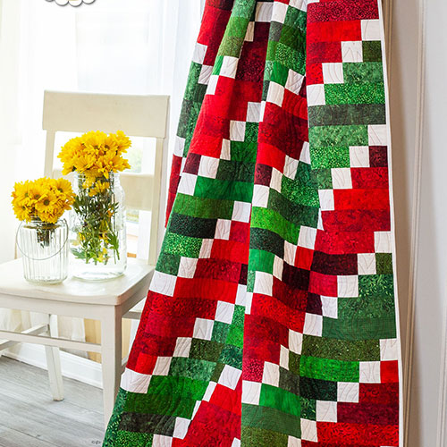 How to Make the Watermelon Vortex Quilt