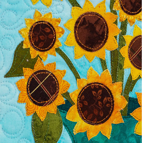 Sunflower Wall Hanging - Blooming Series August