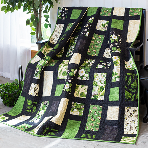 How to Make the Chantrell Simplish Quilt