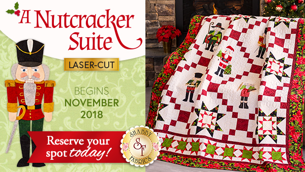 Photos of nutcracker quilt with program details