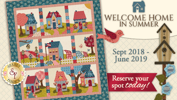 Welcome Home in Summer BOM photo and details
